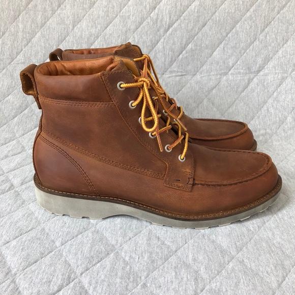 fda70584a3 Ecco Shoes | Holbrook Moc Toe Boot | Poshmark